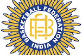 Basketball Federation of India logo